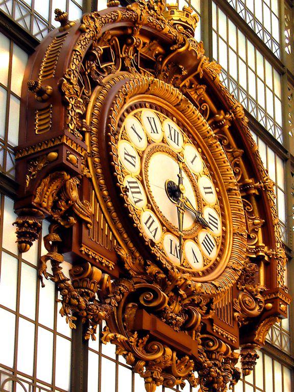 Grand Horloge In Musee DOrsay