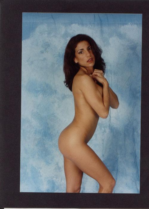 Danielle standing nude