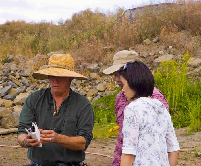 Sauvie Island Archaelogical Dig   - 2007