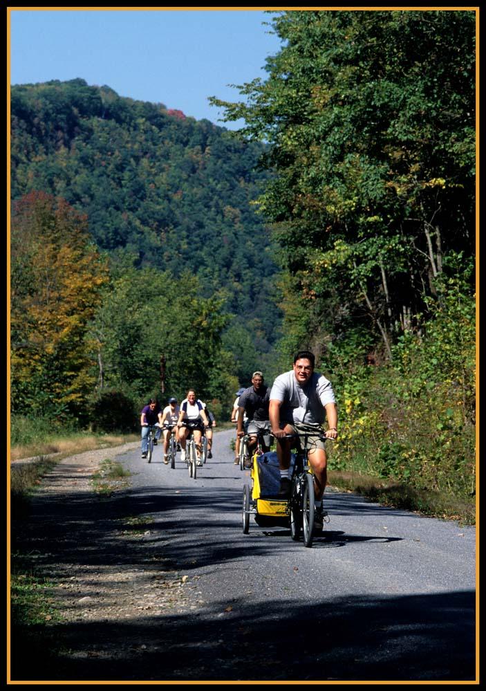 Rails toTrails bicycle trail.