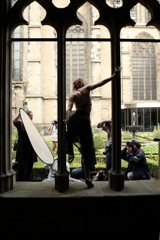 Behind the Scenes by Marc de Witt