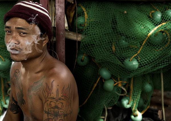 smoke and tattoo