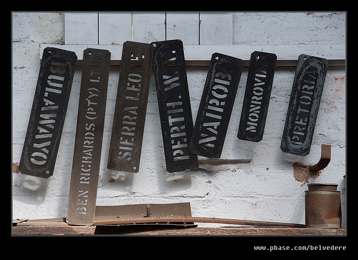Paint Stencils, Black Country Museum