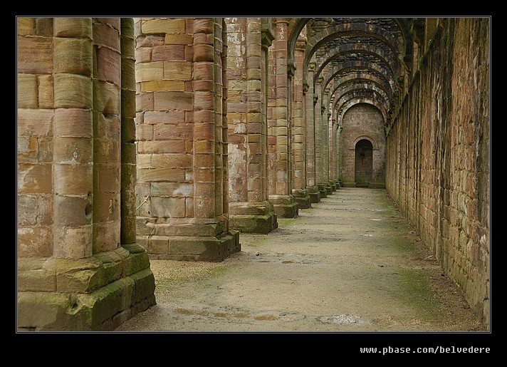 Fountains Abbey #01, North Yorkshire