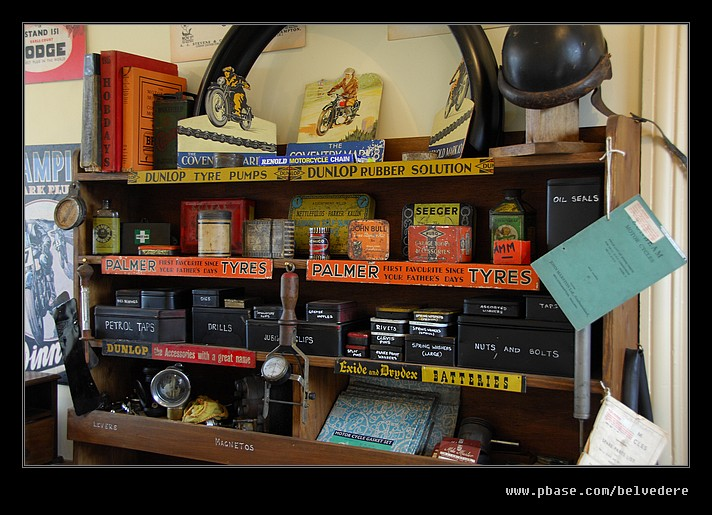 Motorcycle Store #2, Black Country Museum