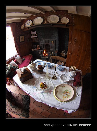Tilted Cottage Jerushah Interior, Black Country Museum