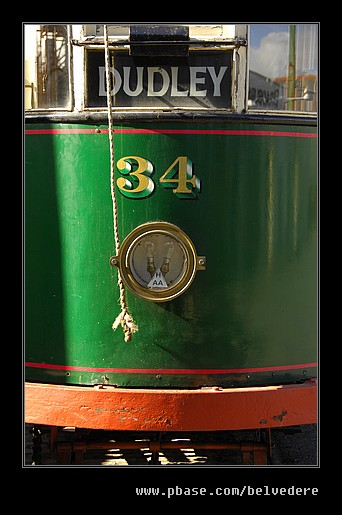 Dudley Bound Tram #34, Black Country Museum