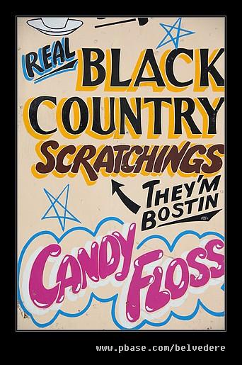 Scratchings Hoarding #2, Black Country Museum