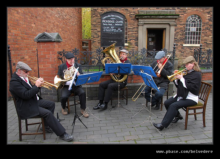 Brass Band Performance, Black Country Museum