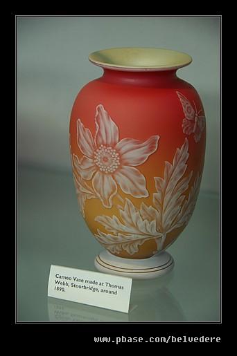 Thomas Webb 1890 Cameo Vase, Black Country Museum
