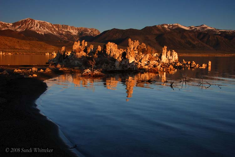 Mono Lake Tufas Warmed by the Morning Light