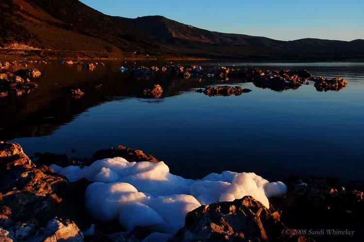 First Light at Mono Lake