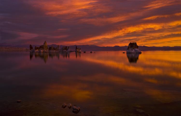Colorful Morning on Mono Lake