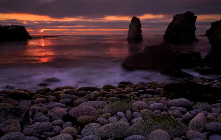 Warm Sunset Glow