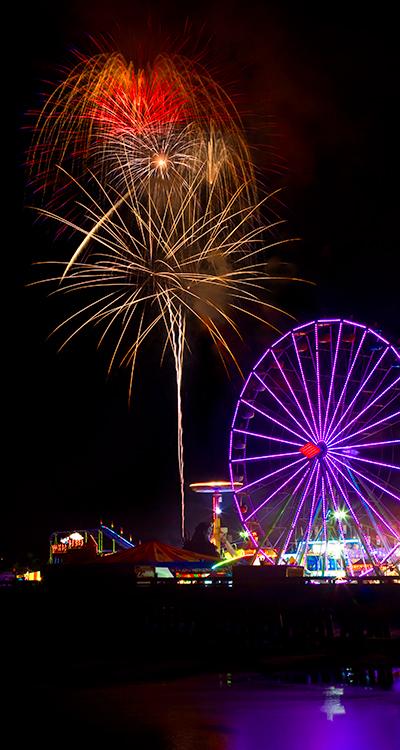 Ferris Wheels and Fireworks