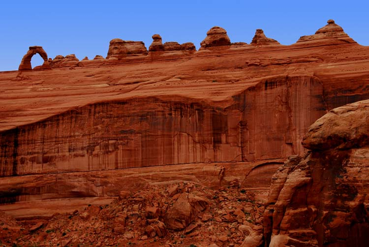 Delicate Arch at a Distance