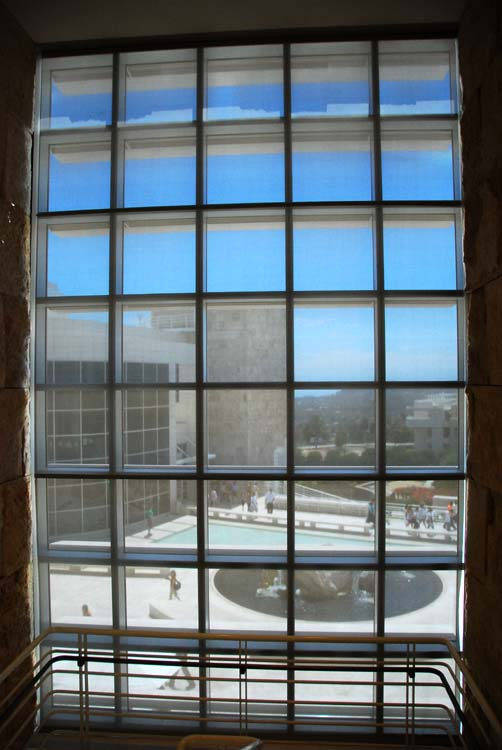 Window View of the Getty Museum