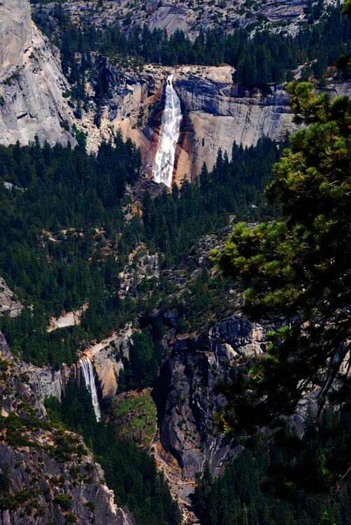 Waterfalls from Glacier Point