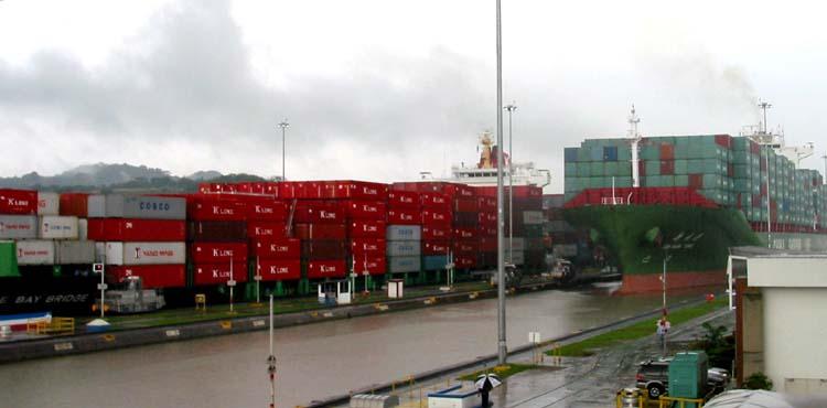 Panama Canal Passage - Pacific to Atlantic
