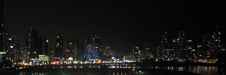 Night Lights of Panama City Waterfront