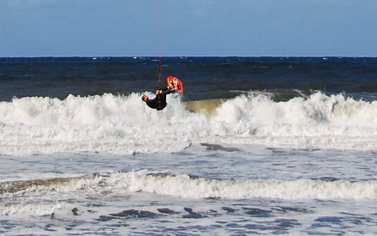 Gettin It On Kite Surfing (See Previous Pic)