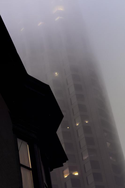 Fog-scraper