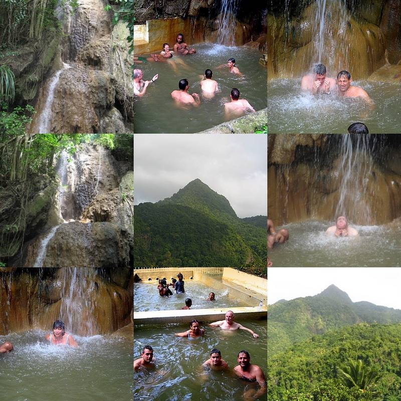 St Lucia Pinto Hot Spring
