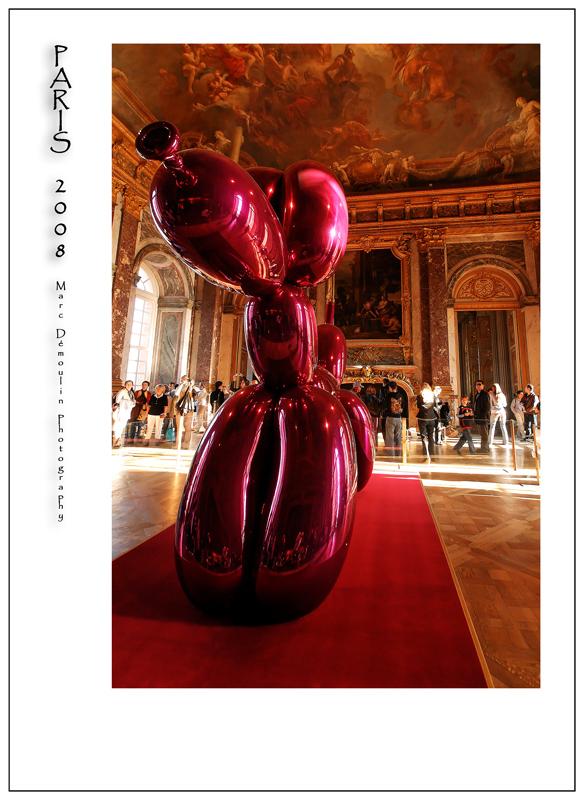 Jeff Koons in Versailles 4