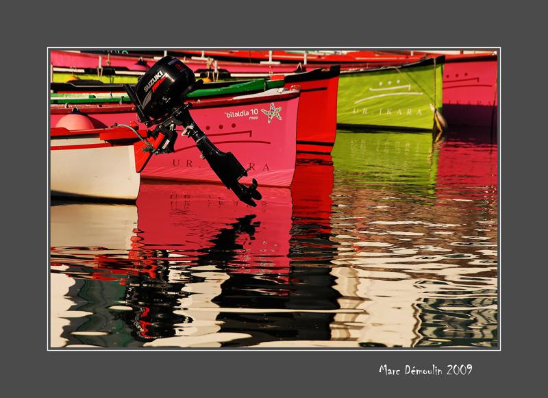 Boats in Socoa