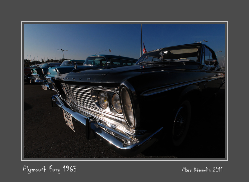 PLYMOUTH Fury 1963 Le Bourget - France