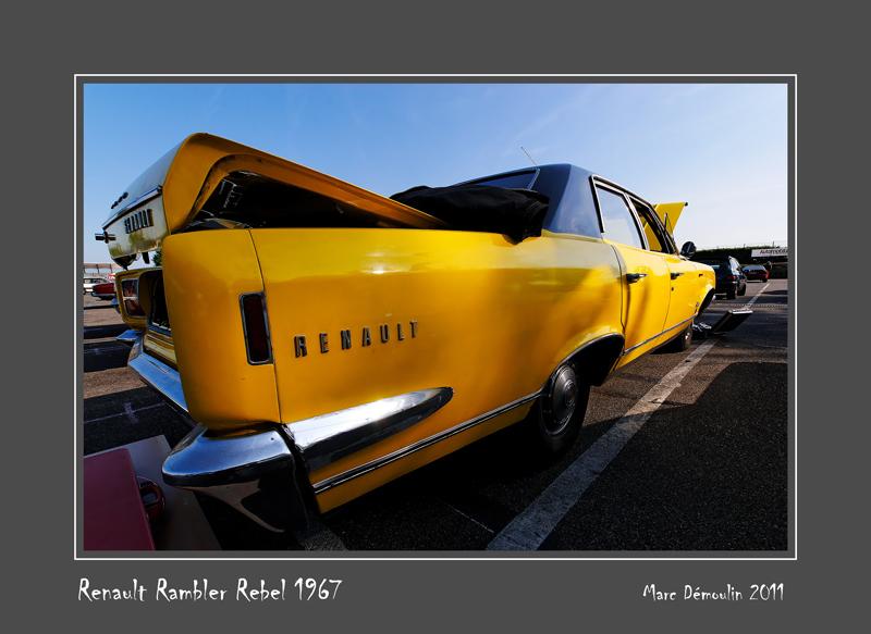 RENAULT RAMBLER Rebel 1967 Magny-Cours - France