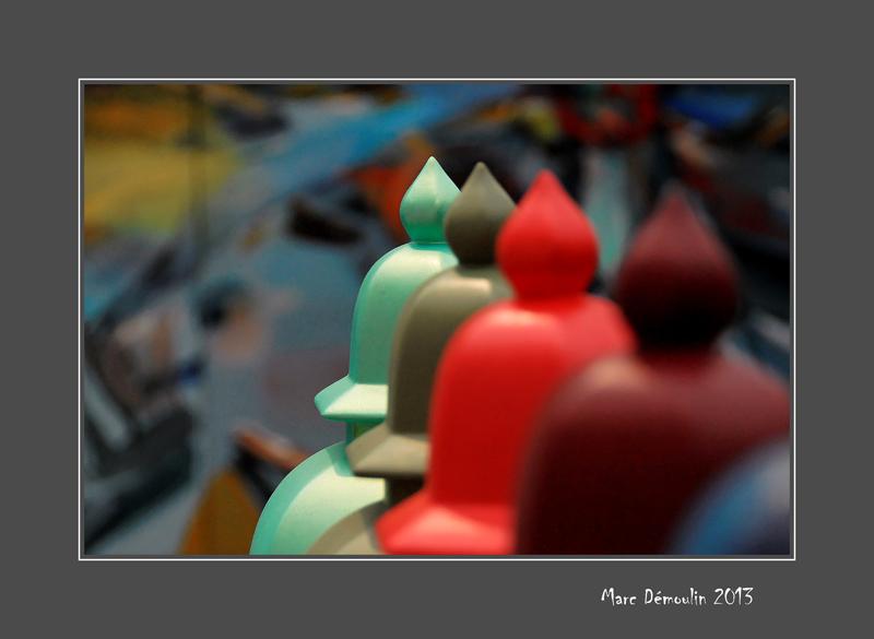 Vases row