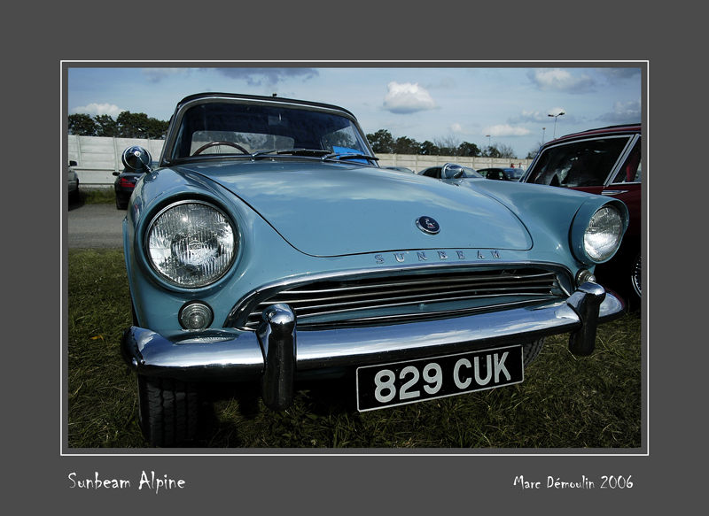 SUNBEAM Alpine Le Mans - France