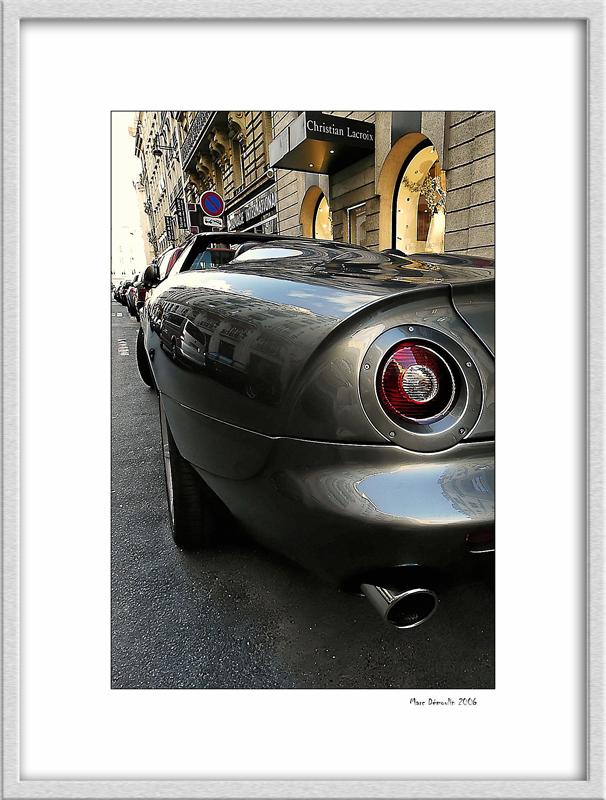 Back... to the future (Aston Martin cabriolet rear)