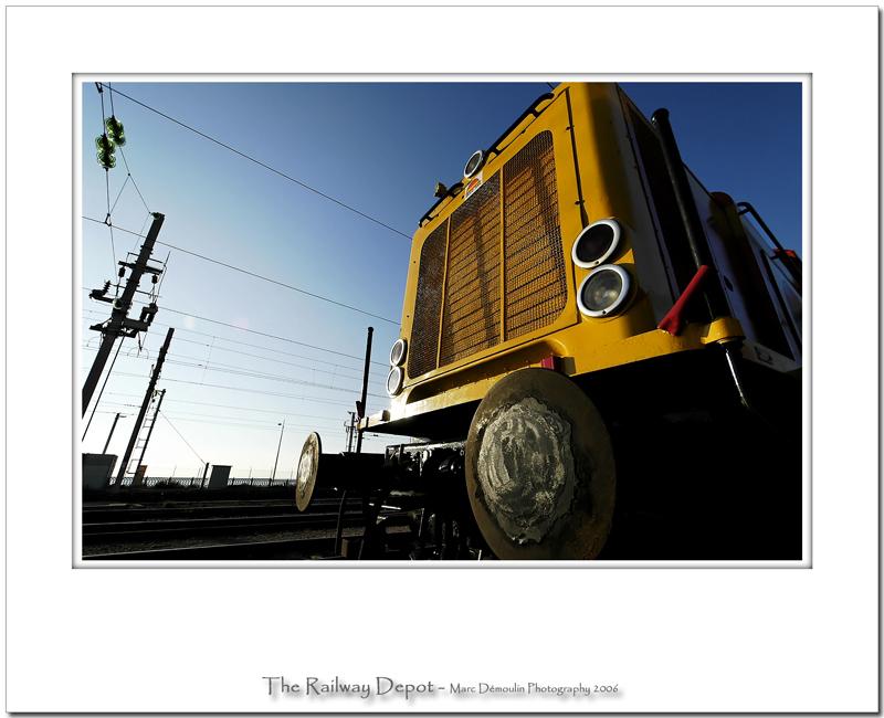 The railway depot 8