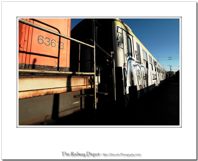 The railway depot 32
