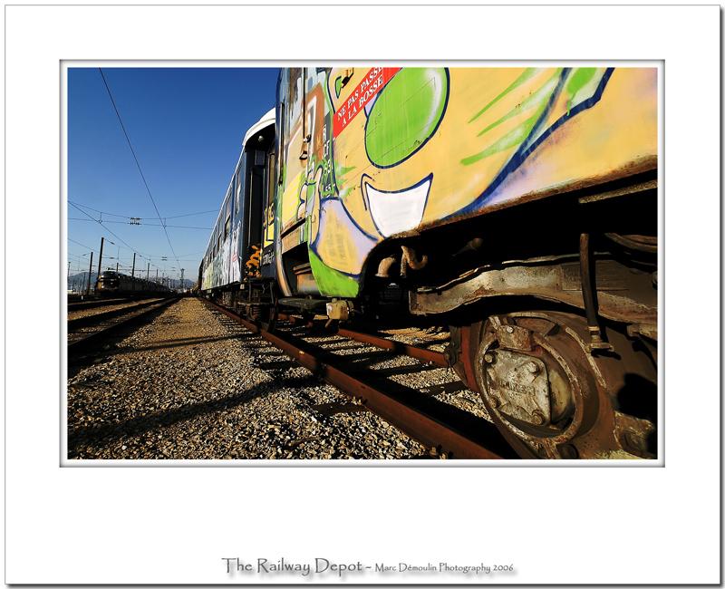 The railway depot 38