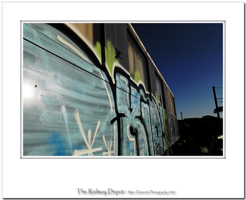 The railway depot 43