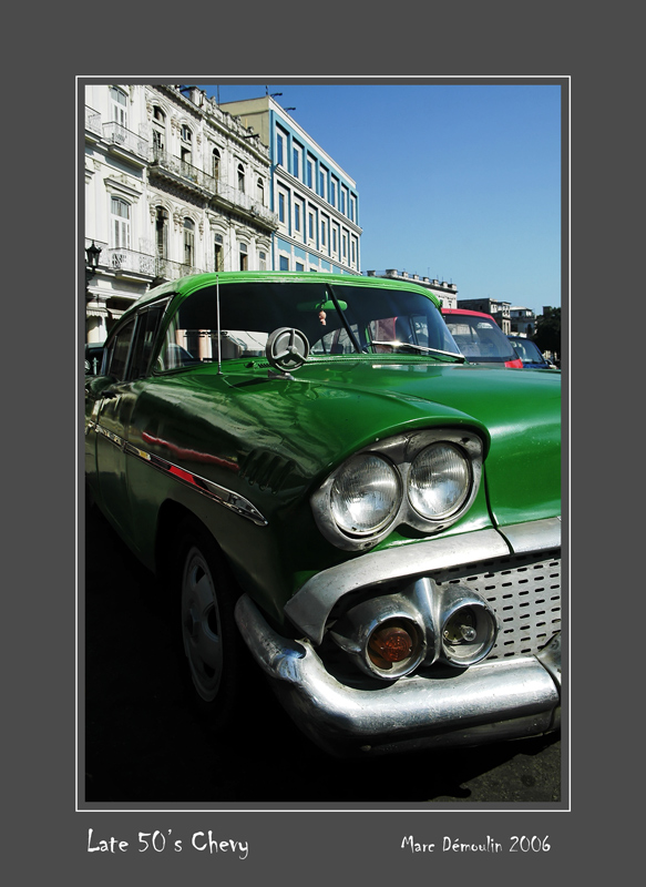 Late 50s Chevy La Habana - Cuba