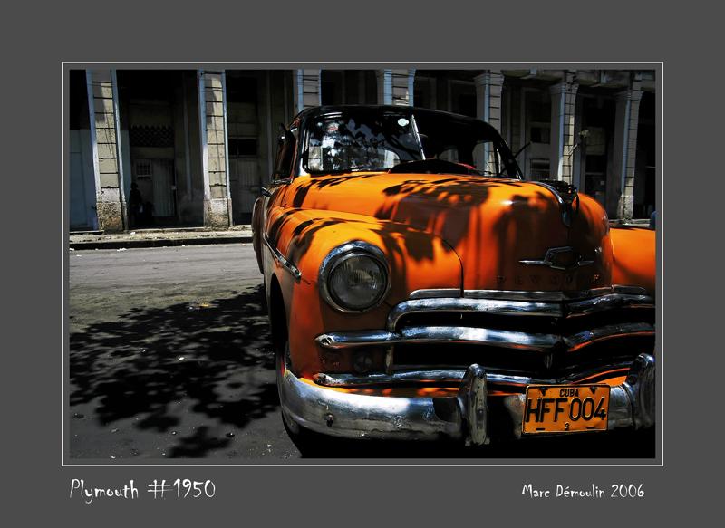 PLYMOUTH #1950 La Habana - Cuba