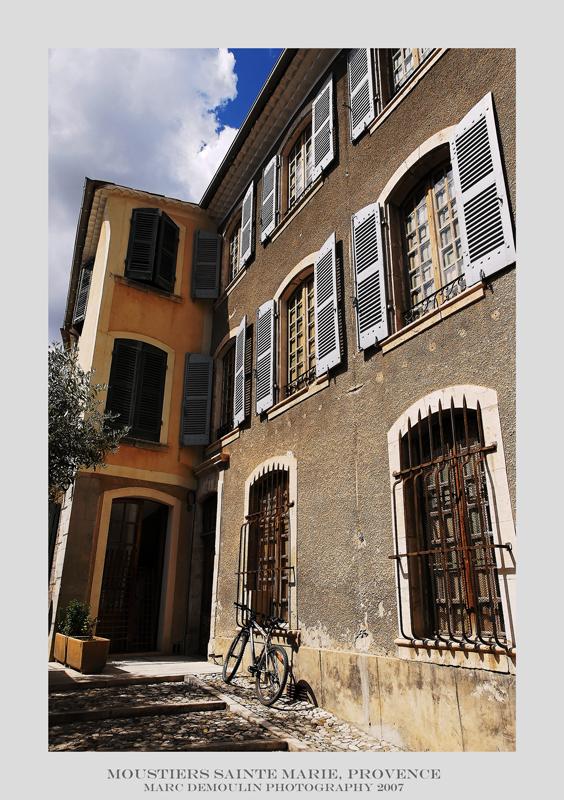 Provence, Moustiers Sainte Marie