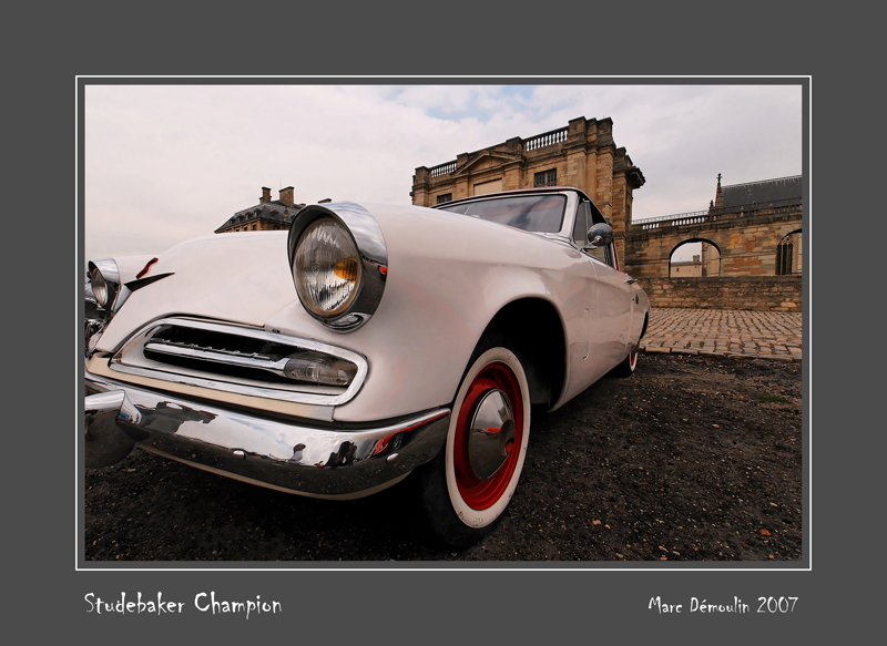 STUDEBAKER Champion Vincennes - France