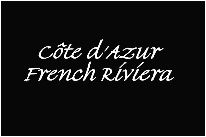 Côte dAzur, french Riviera