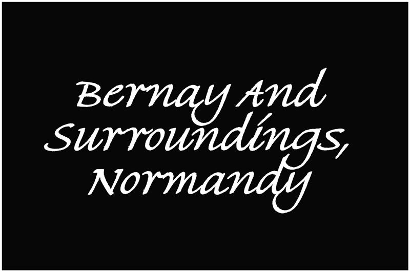 Bernay and surroundings, Normandy