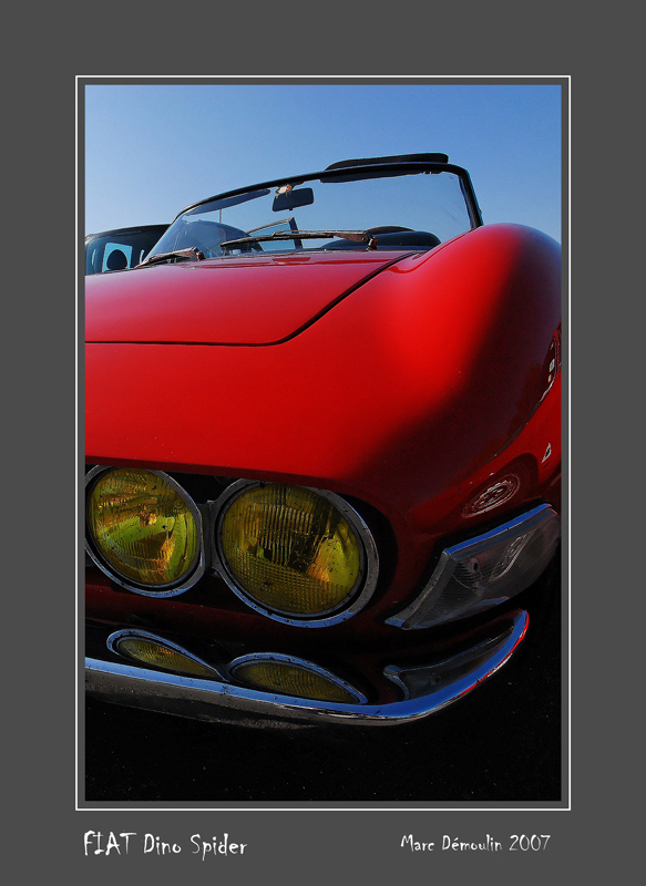 FIAT Dino Spider Poitiers - France