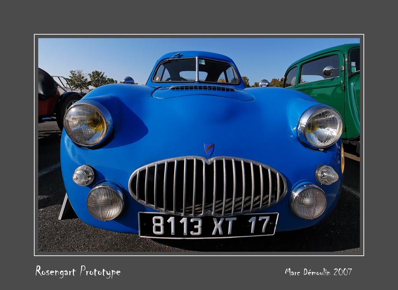 ROSENGART Prototype Poitiers - France