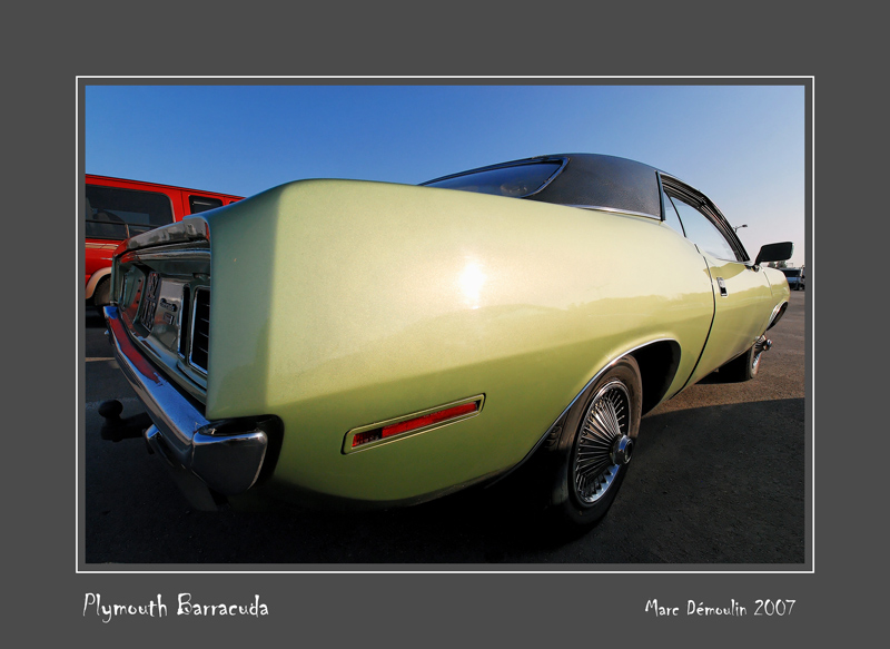 PLYMOUTH Barracuda Le Bourget - France