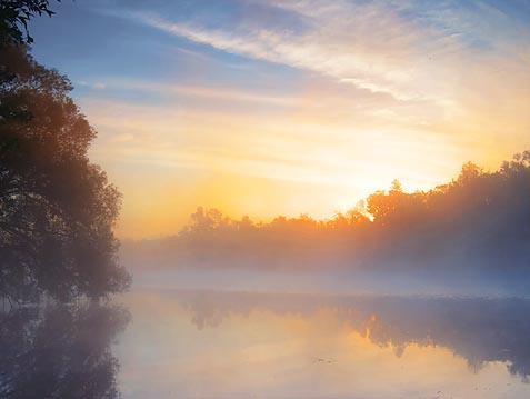 Scugog River Sunrise 18754