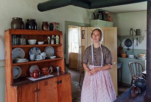 19th Century Hotel Kitchen 06396