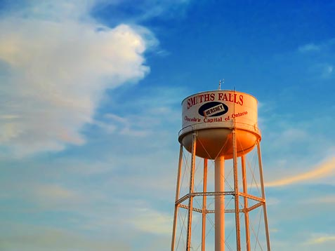 Water Tower At Sunset 20100702